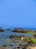 【台北】北海岸石門洞景點。美麗的貝殼砂海灘。熱門觀看夕陽&潮間帶景點:IMG_9686.JPG