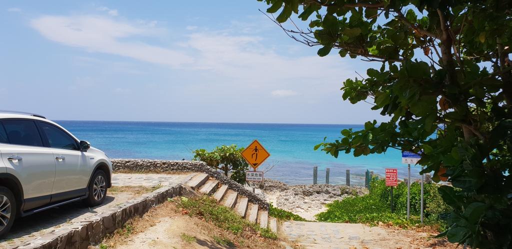 20200513_113029.jpg - 【屏東.墾丁】砂島貝殼展示館。秘境砂島沙灘超美保育中勿進。砂島海水正藍美到爆炸
