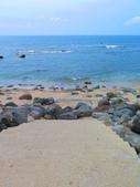 【台北】北海岸石門洞景點。美麗的貝殼砂海灘。熱門觀看夕陽&潮間帶景點:IMG_9576.JPG