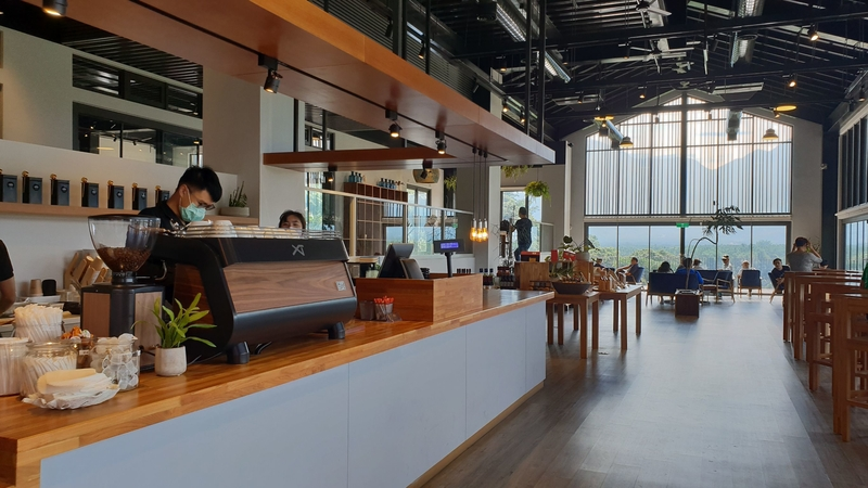 158752.jpg - 【南投.魚池鄉】鹿篙咖啡。被群山環繞的咖啡廳。咖啡好喝蛋糕好吃
