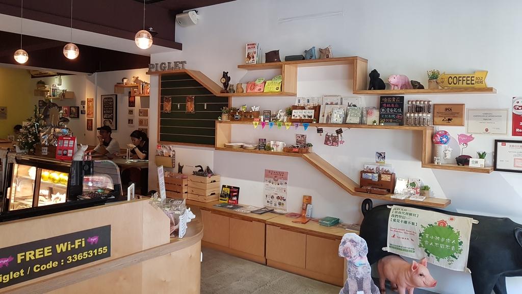 20180712_154523.jpg - 【台北.公館】彼克蕾咖啡義大利麵下午茶專賣店。寵物友善餐廳上牽繩可落地