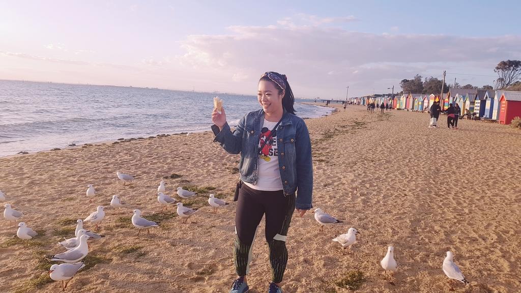 20190213_193926.jpg - 【澳洲.墨爾本】2019免費景點。Brighton Beach Bath Boxes 海邊彩色小屋