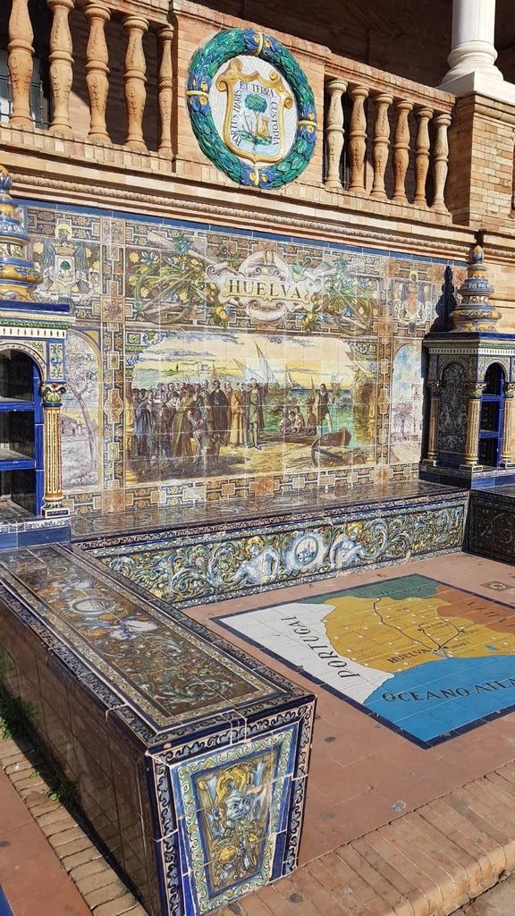 133162.jpg - 【西班牙.賽維亞】2020Sevilla西班牙廣場划10歐小船不限時間。假日觀賞佛朗明哥街頭藝人表演