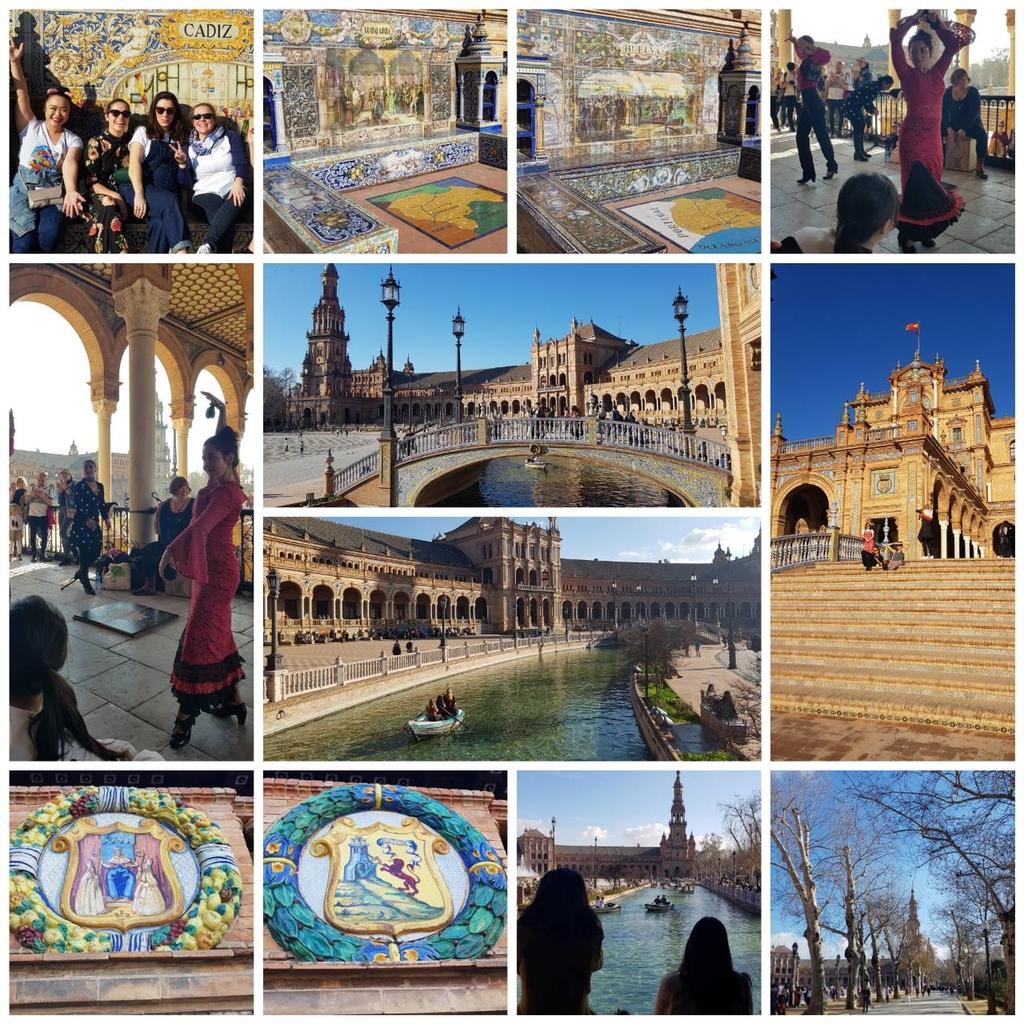 133124.jpg - 【西班牙.賽維亞】2020Sevilla西班牙廣場划10歐小船不限時間。假日觀賞佛朗明哥街頭藝人表演
