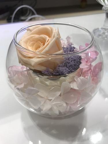 香檳玫瑰700.JPG - 永生花玫瑰禮盒