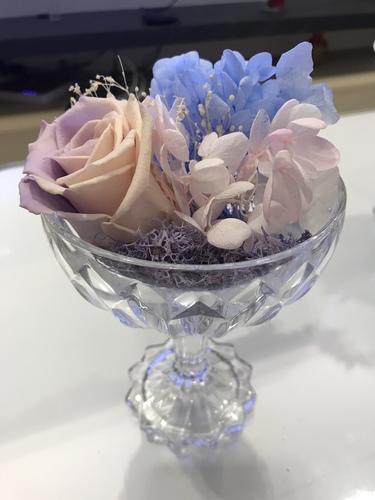 粉紅紫羅蘭玫瑰700.JPG - 永生花玫瑰禮盒
