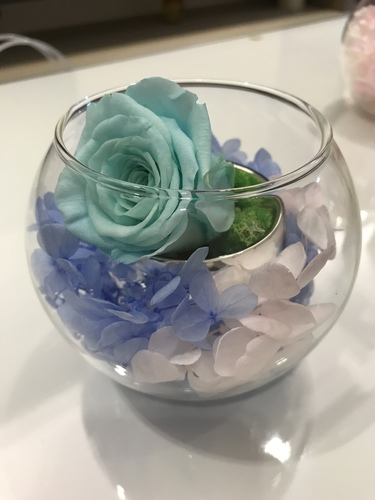 tiffany藍玫瑰700.JPG - 永生花玫瑰禮盒