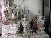 神像雛型粗柸細雕:朱府王爺 開基朱府 金龍太子 太上