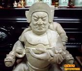 神像雕刻:神像雕刻~牛樟木尺3關聖帝君 (4).JPG