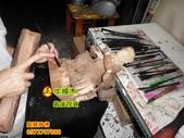 神像雕刻:神像雕刻~牛樟木尺3關聖帝君.JPG