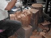 關公拿春秋關聖帝君神像雕刻2012/8/11:神像製作雕刻