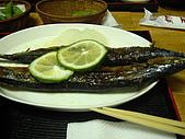 歌磨居酒屋:多汁的烤秋刀魚