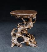 雅石\盆缽‧配件進口訂制款 檀木精品 根雕桌:M7-2.jpg