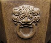 【盆缽收藏】精品 浮雕獅頭 六方盆【 定制款 】:獅19.jpg