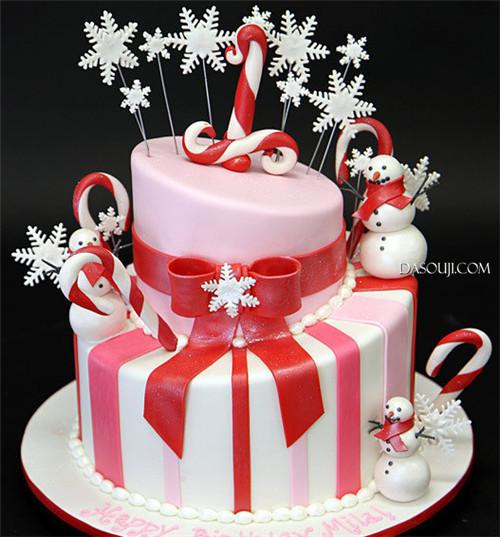 聖誕來了,漂亮的聖誕蛋糕...12-19-2014:12-19-5.jpg