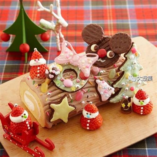聖誕來了,漂亮的聖誕蛋糕...12-19-2014:12-19-24.jpg