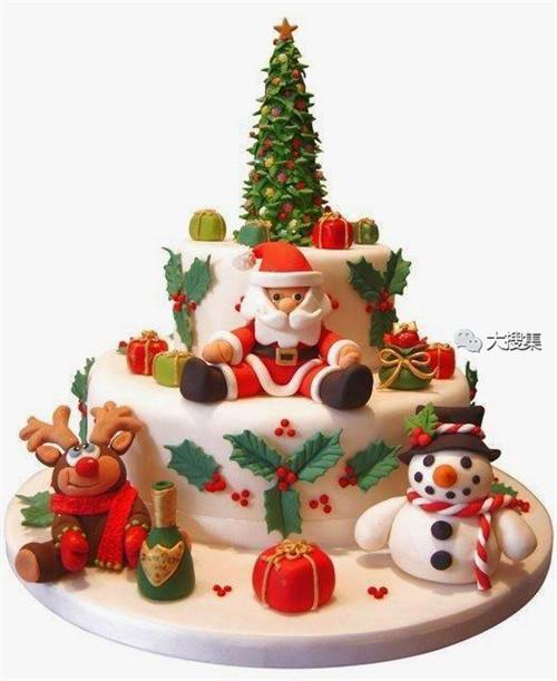 聖誕來了,漂亮的聖誕蛋糕...12-19-2014:12-19-1.jpg