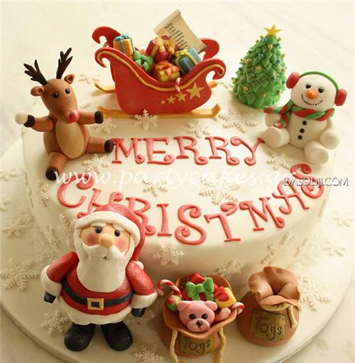 聖誕來了,漂亮的聖誕蛋糕...12-19-2014:12-19-2.jpg