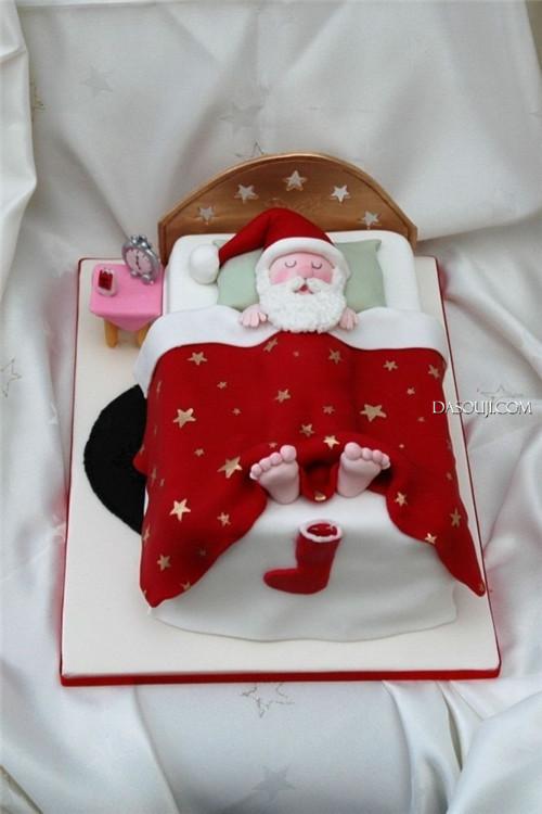 聖誕來了,漂亮的聖誕蛋糕...12-19-2014:12-19-11.jpg