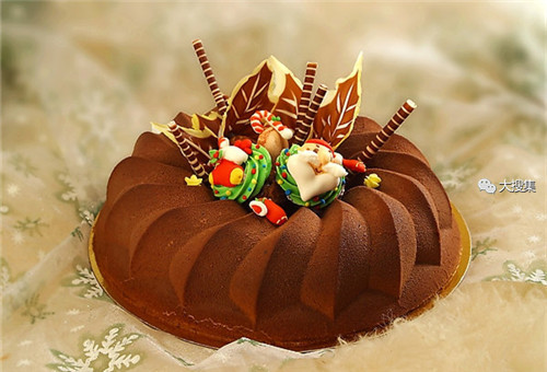 聖誕來了,漂亮的聖誕蛋糕...12-19-2014:12-19-7.jpg