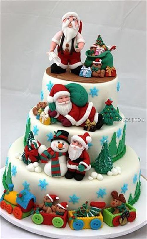 聖誕來了,漂亮的聖誕蛋糕...12-19-2014:12-19-4.jpg
