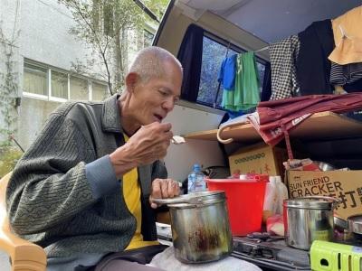 「柯賜海落魄近況曝」抗議天王慘蝸居陽明山露營車