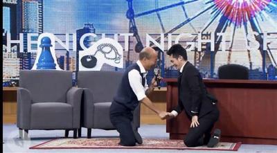 「博恩秀滿臉」韓國瑜登夜夜秀,全因韓這技能太強!