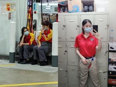 「壞壞自拍照」加油站正妹流出,遭老闆痛罵:別再這樣!