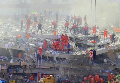 「土耳其強震」愛琴海規模7.0死45人,伊茲米爾巿長:180人受困