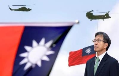 「謝志偉不演了」冷眼!批國旗鮮紅是因為補了台灣人的鮮血