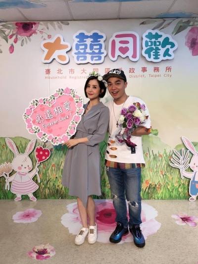 「張峰奇李亮瑾」正式成為夫妻,已懷孕三個月!