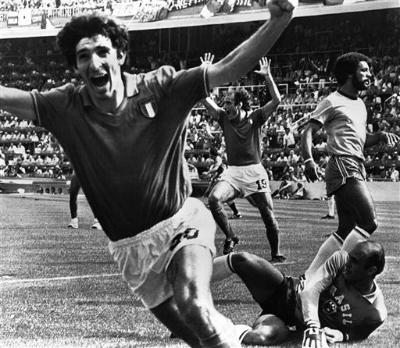 「羅西辭世」義大利足壇傳奇巨星,曾率隊奪界盃冠軍