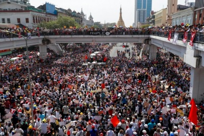 「立好遺囑才出門」緬甸數百萬人響應全國起義,決定跟軍隊同歸於盡