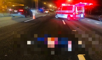 「上國道遭撞身亡」婦人照顧癌夫騎車往返醫院,誤上國道發生憾事!
