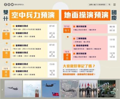 「國慶軍機預演」國慶前戰機通過台北市上空,不是阿共打過來!
