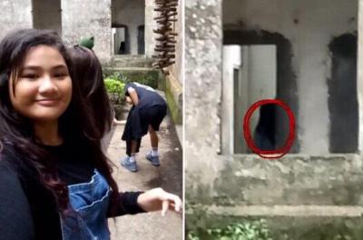 「菲律賓靈異旅館」鬼屋巡禮,少女朝聖驚見女鬼入鏡