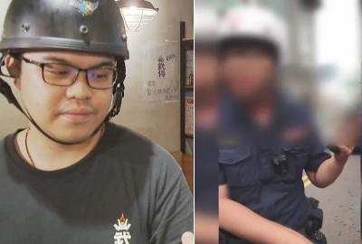 「莊姓員警」壓腳事件掃到颱風尾,臉長得跟桃警一樣錯了嗎?