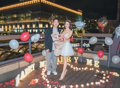 「千年一遇空姐」30歲生日被求婚,大肌肉男友101前浪漫求婚!