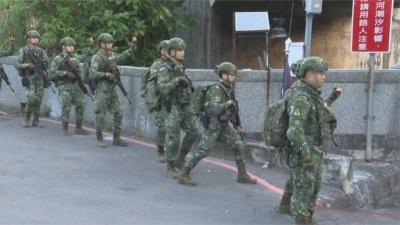 「淡水街頭」一群陸特戰全副武裝,21天行軍500公里