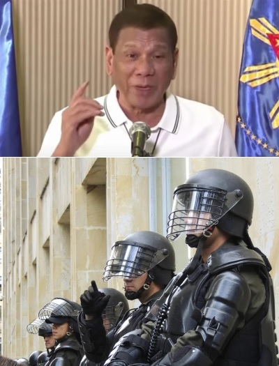 「若不戴口罩直接槍斃」菲律賓強人杜特蒂一句話,果真有人被警察槍殺!