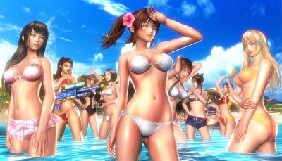 「海灘度假村」3D成人遊戲,性感沙灘美少女想啪啪哪一位?