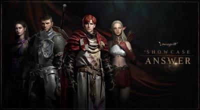 「天堂W」全球大型跨界遊戲,線上展示會說明遊戲內容