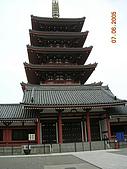 旅遊之日本行:淺草觀音廟一景