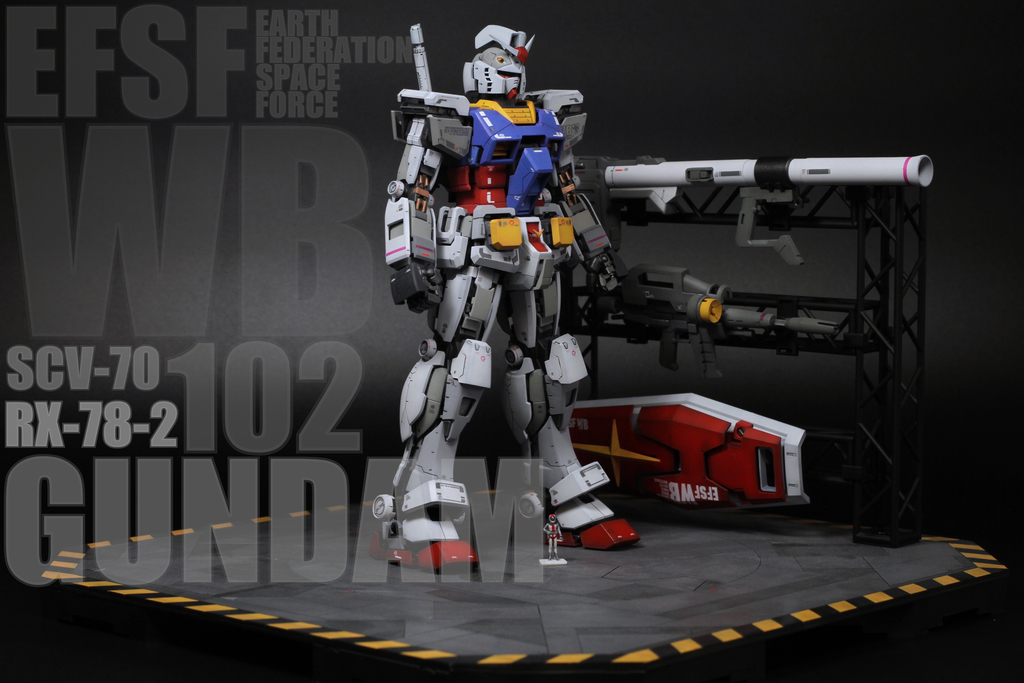 cover.JPG - MG RX-78-2 3.0 開甲+地台
