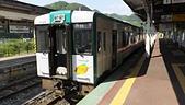 乗り物:1番線, JR 鳴子温泉駅, 宮城県. 2014/05/23.