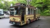 乗り物:Bus 乗り場, 青葉山公園, 仙台市, 宮城県. 2014/05/22.