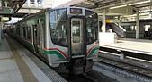 乗り物:7番線, JR 仙台駅, 仙台市, 宮城県. 2014/05/22.