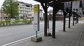 """仙台:""""Bus 乗り場"""", JR 遠野駅, 遠野市, 岩手県. 2014/05/23."""