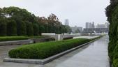 広島:平和の灯 (東南向), 平和記念公園. 2017/10/21.
