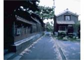 金沢:(左) 北前船主屋敷 蔵六園 (北向). 石川県 加賀市 橋立町 ラ 47.
